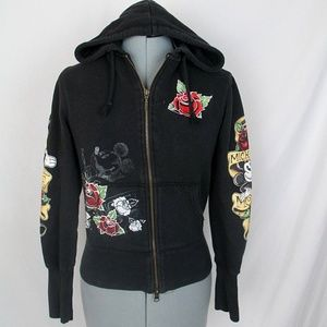 Mickey Mouse Hoodie Tattoo Graphics Disney Small